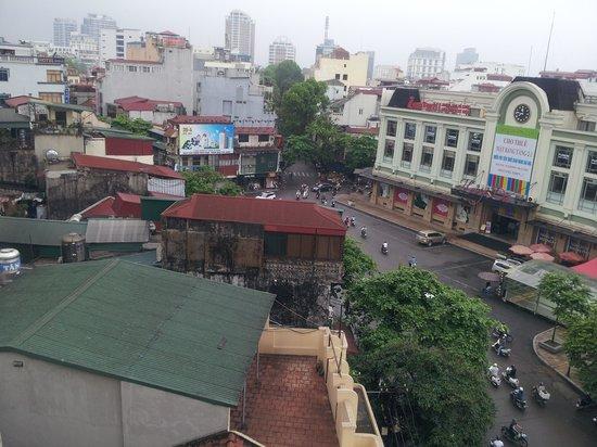 Nova Hotel: View from the balcony