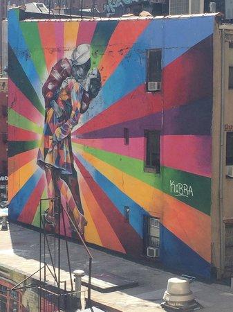 Manhattan Skyline : LIndo Grafiti