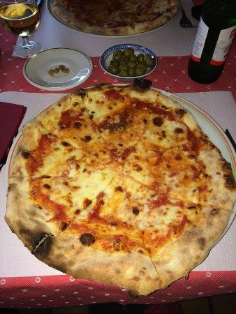 Da Paolo : Margherita pizza
