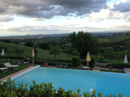 Hotel San Michele : CLOUDS