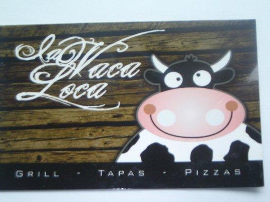Restaurante Grill La Vaca Loca: Card