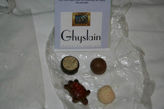 Ghyslain: Chocolates we bought there