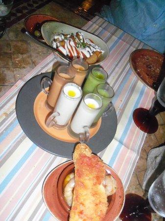 Al Hambra: Gaspacho, prawns & patatas bravas