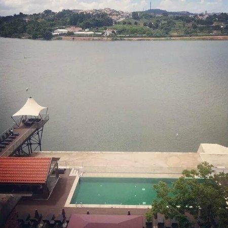 Pestana Palacio do Freixo: View from our hotel room