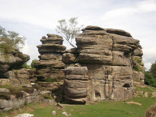 Brimham Rocks and Moor.