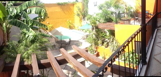 Luz En Yucatan: view of the pool