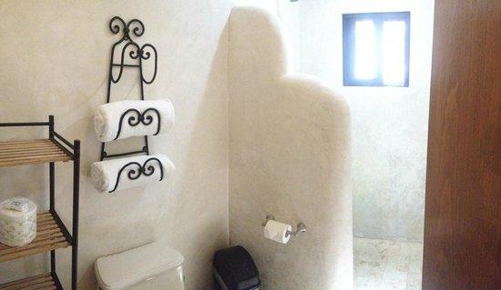 Luz En Yucatan: shower/ bathroom