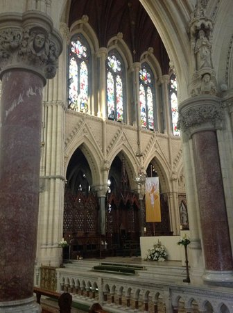 Cobh Cathedral: View across the nave
