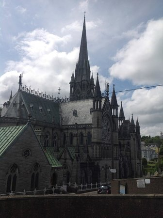 Cobh Cathedral: The cathedral from the Northeast