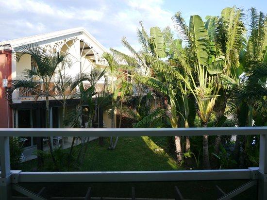 Résidence l'Archipel: Vis à vis du balcon