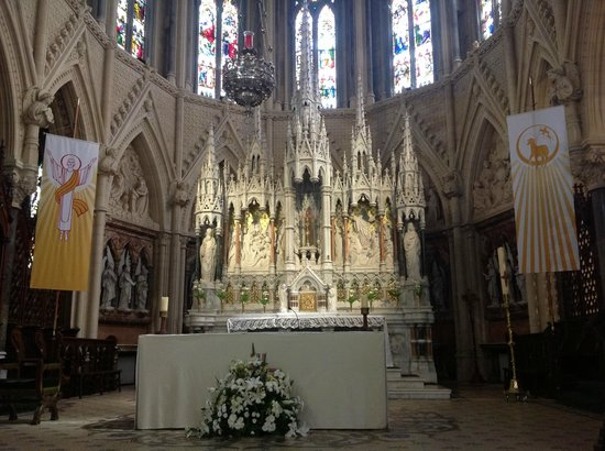 Cobh Cathedral: The magnificent carved reredos