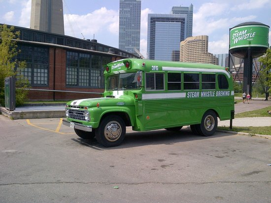 Steam Whistle Brewery : Steam Whistle Fun Vehicles