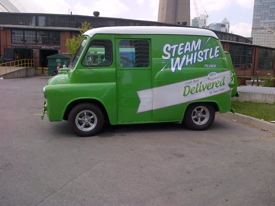 Steam Whistle Brewery : Another Steam Whistle Delivery Vehicle