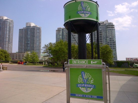 Steam Whistle Brewery : Close to the entrance