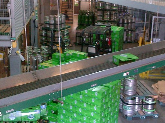 Steam Whistle Brewery : Assembly Line