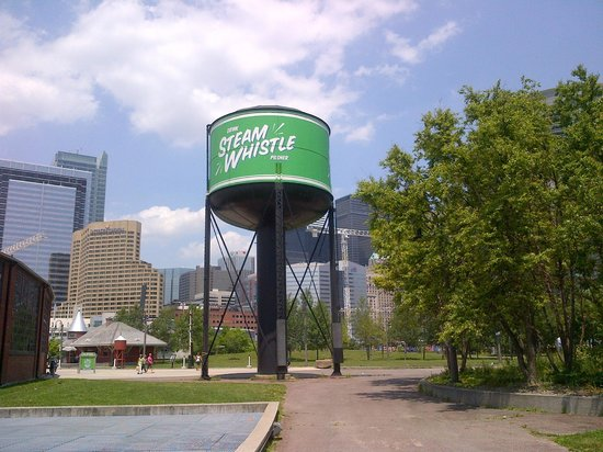 Steam Whistle Brewery: Water Tank