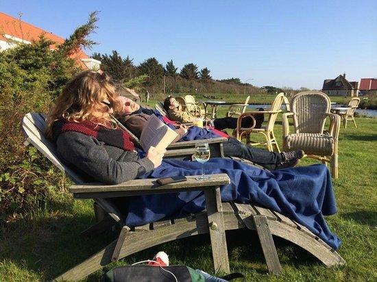 Hotel Tatenhove Texel: The garden