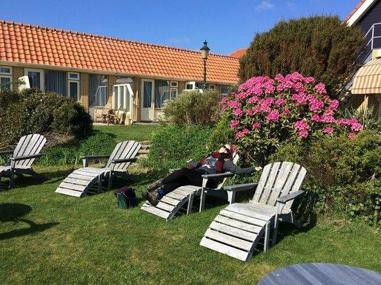 Hotel Tatenhove Texel : The garden