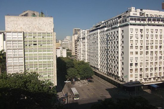 Novotel RJ Santos Dumont: view from the front rooms