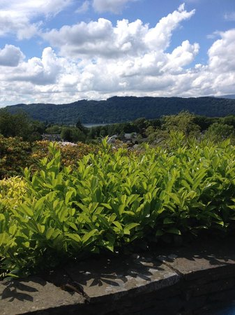 Hillthwaite Hotel : View from terrace