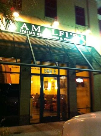 Amalfi S Italian Restaurant Pizzeria Front