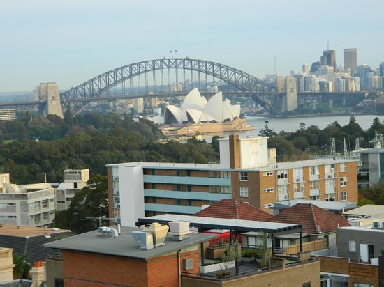 Macleay Hotel : The view