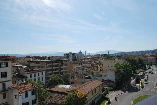 AC Hotel Firenze: Another view from the top of the hotel