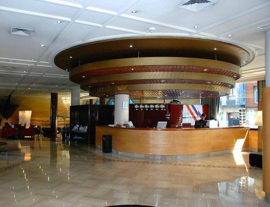 Silken Indautxu Hotel: Recepcion