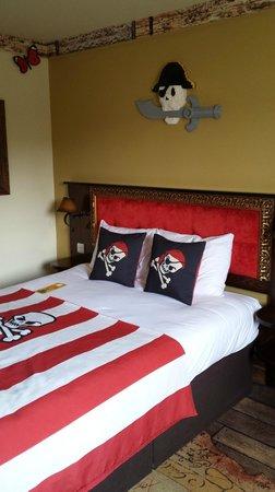 LEGOLAND Resort Hotel: Main sleeping area