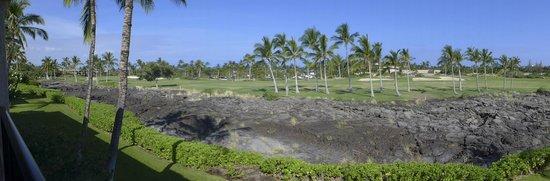 Aston Shores at Waikoloa : view over the lava