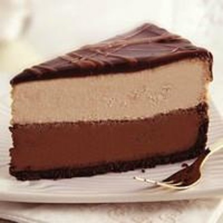 Olde Towne Creamery: Triple Chocolate Cheesecake