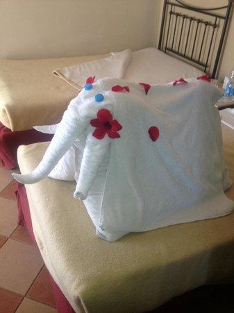 Jaz Fanara Resort & Residence: Украшают номера