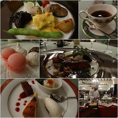 Unzen Kanko Hotel : 夕食