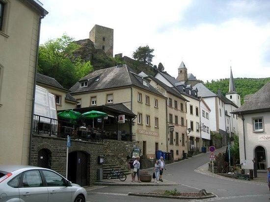 Hotel Le Postillon : Restaurantterrasse