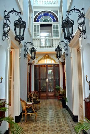 Palacete Chafariz D'El Rei: Internal Hallway