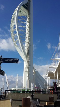 Spinnaker Tower: High Tea at the top of Portsmouth High Life