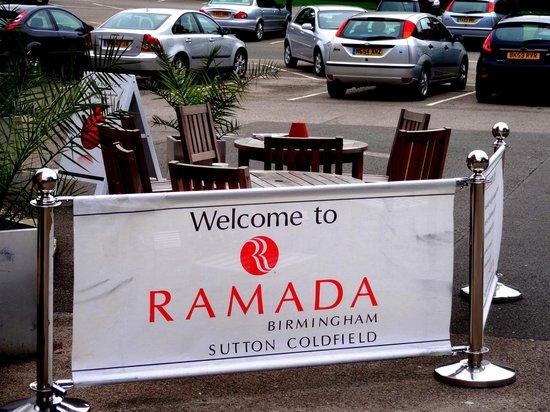 Ramada Birmingham Sutton Coldfield: Entrance area