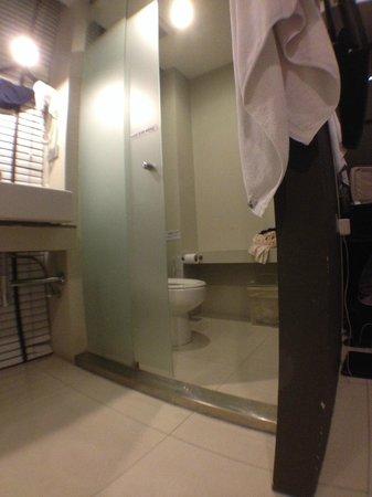 Metz Pratunam: toilet
