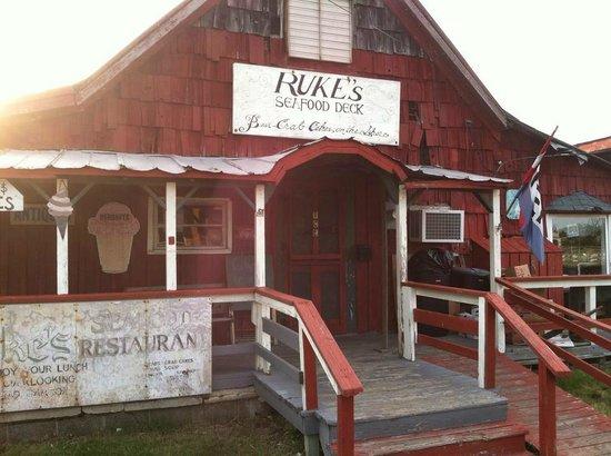 Smith Island Rukes Seafood Plain And Simple Place Good Food