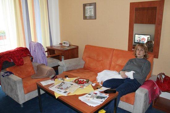 Hotel Concordia: Ольга