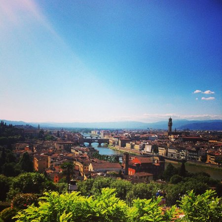 Piazzale Michelangelo: The best view of all of Firenze