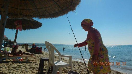 Yasmin Hammamet : Пляж Хаммамет