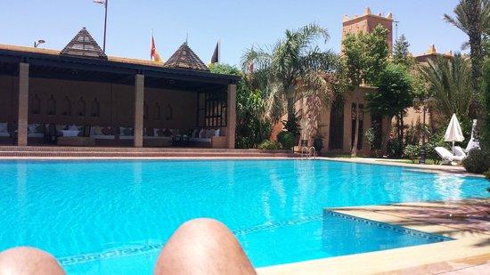 Le Berbère Palace : Piscine