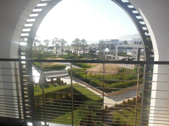 Sofitel Agadir Thalassa Sea & Spa: Vue sur la piscine