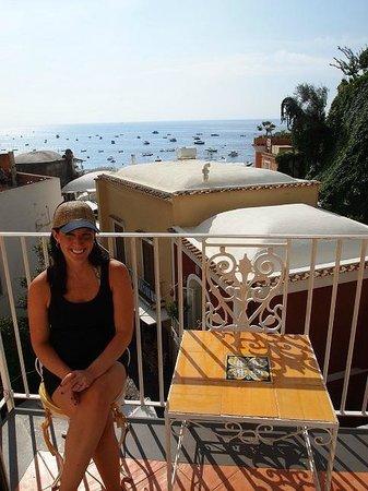 Villa Flavio Gioia: Our amazing balcony in the room