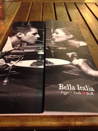 Bella Italia Leicester Square : Gluten free food available.  Good location
