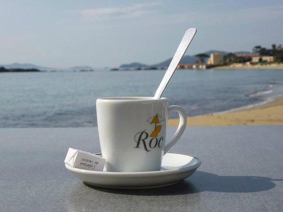 Roc-Hôtel : Café vue mer