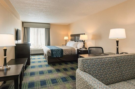 Comfort Inn & Suites Conference Center: Junior Suite One King Bed