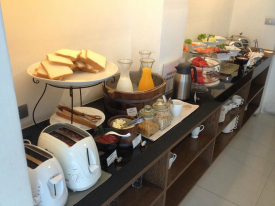 Metz Pratunam : Breakfast buffet!