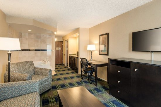 Comfort Inn & Suites Conference Center: Whirlpool Suite Living Room